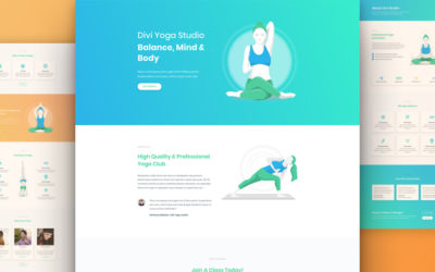 Yoga Website Designer